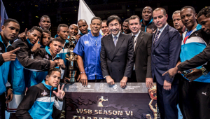 Cuba Domadores thrash British Lionhearts to claim second World Series of Boxing title