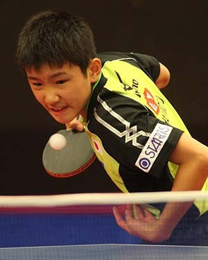 Youngster Harimoto makes history by reaching quarter-finals at ITTF Slovenia Open