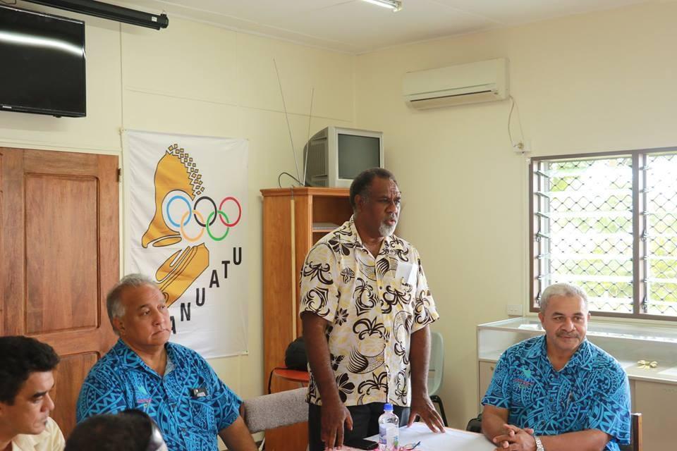 A meeting has taken place to establish the Vanuatu Sports Journalists Association ©Facebook
