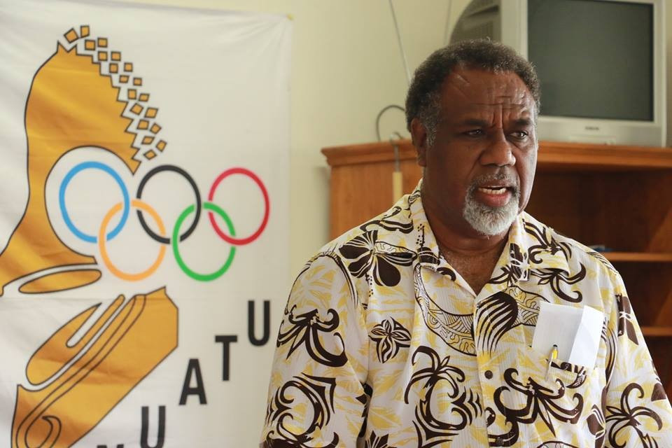 Pacific Islands News Association President Moses Stevens was among those to attend the launch meeting ©PINA
