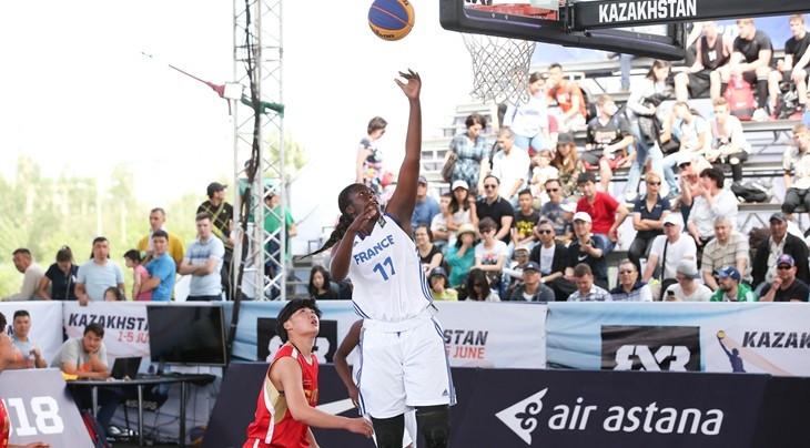 France retain women's crown at FIBA 3x3 Under-18 World Championships as Qatar claim men's gold