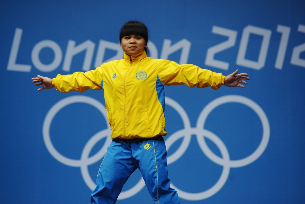 Reports also suggest that Zulfiya Chinshanlo's London 2012 sample tested positive after re-analysis ©Getty Images