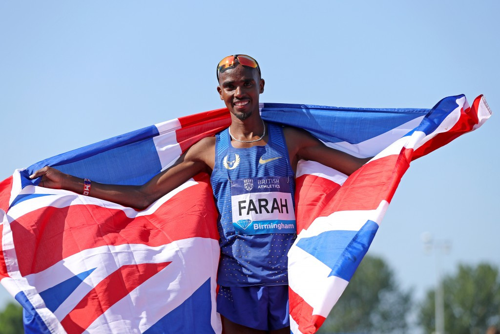 Farah sets British 3,000m record at Birmingham Diamond League as Barshim gets his mojo working