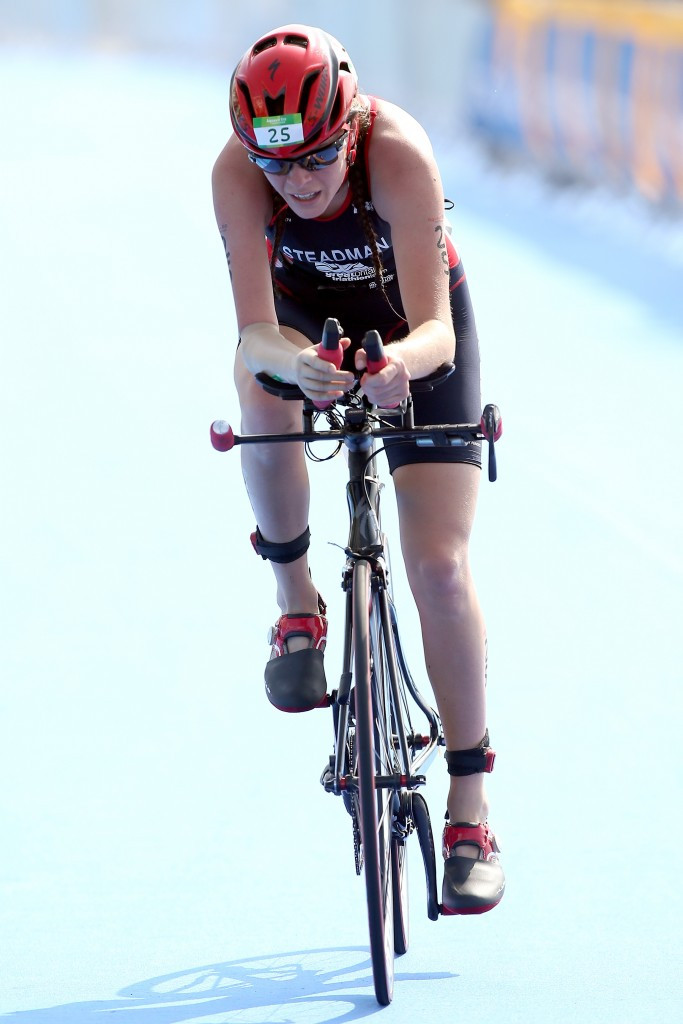 Steadman claims PT4 victory at ITU World Para-Triathlon Event