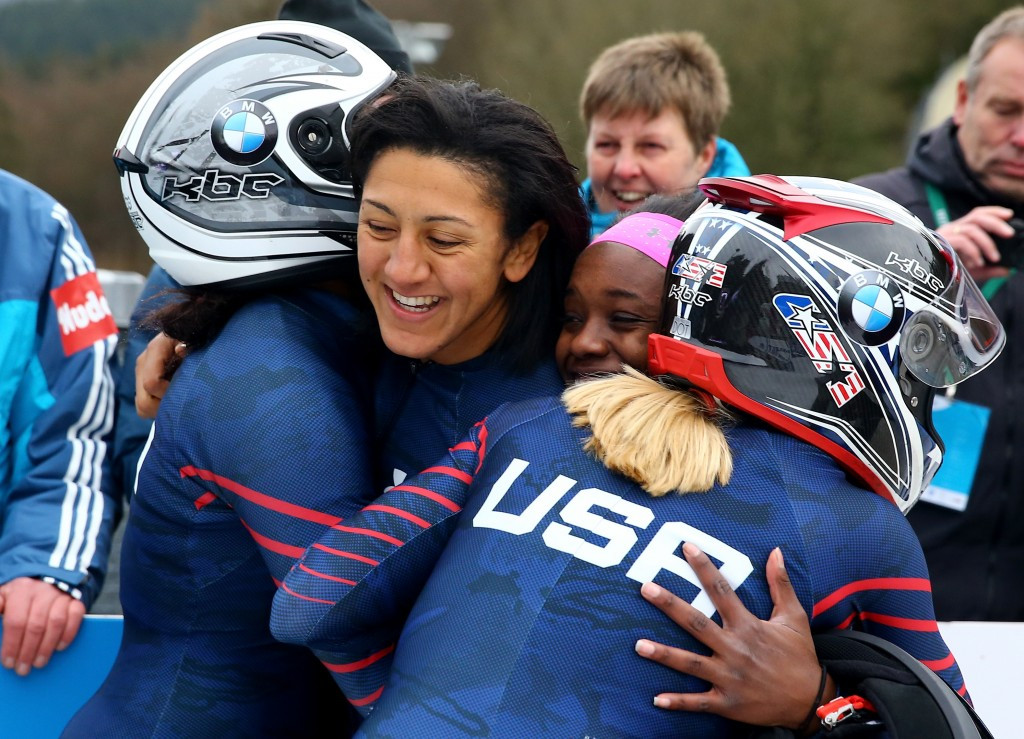 Two-time Olympic bobsleigh medallist Elana Meyers Taylor is due to speak at the FLAME event