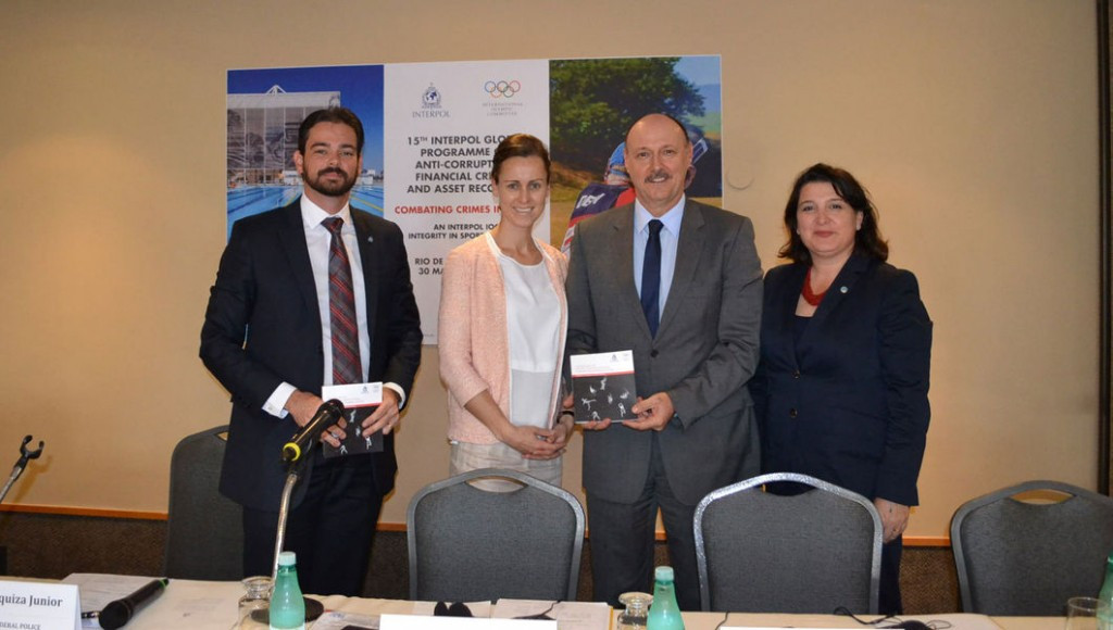 A handbook on protecting sport from competition manipulation was unveiled at the workshop