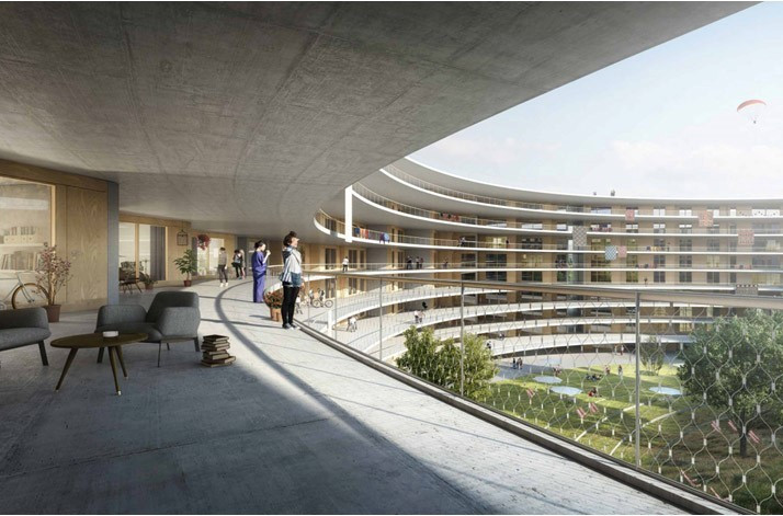 Lausanne 2020 reveal winning design for Athletes' Village