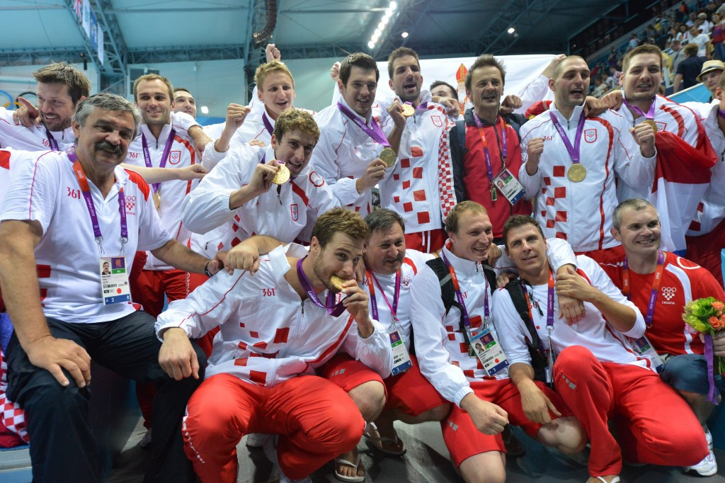 Nikša Dobud was a member of the Croatian team which won Olympic gold at London 2012