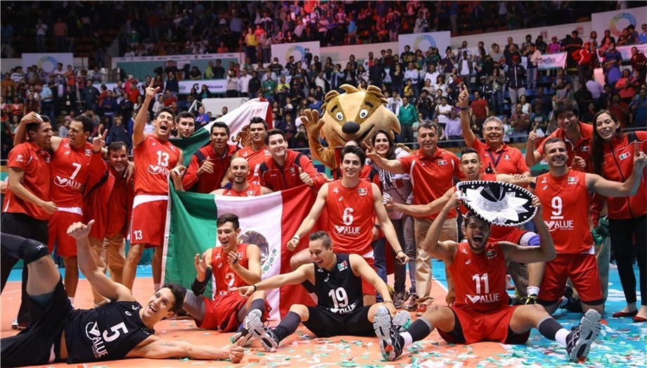 Mexico complete men's Rio 2016 volleyball line-up after success at FIVB Olympic Qualification Tournament