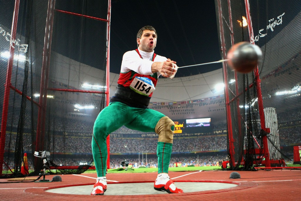 Hammer thrower Vadim Devyatovsky, now President of the Belarus Athletics Federation, kept his Beijing Olympic medal after a successful appeal to CAS ©Getty Images