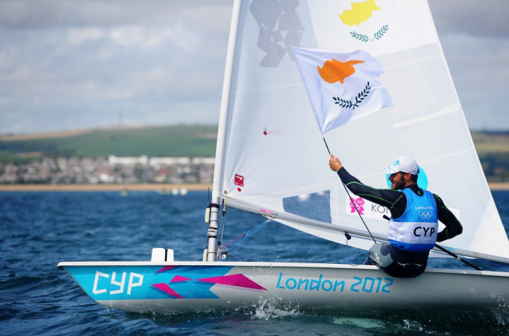 Cypriot Pavlos Kontides will return to the scene of his historic Olympic silver medal winning performance in Weymouth this week ©Getty Images