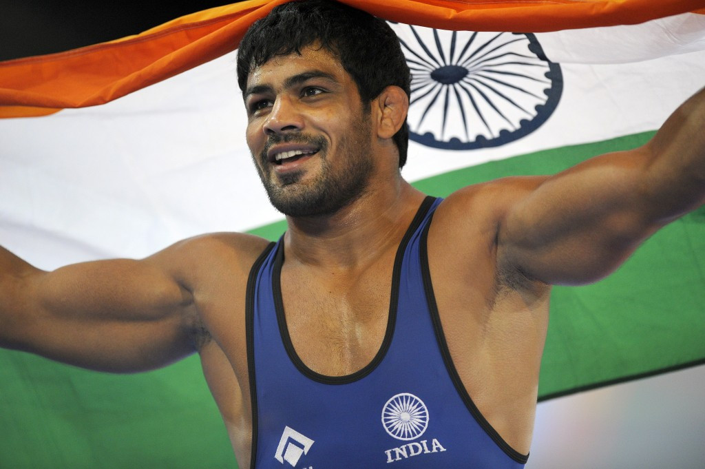 Sushil Kumar's hopes of representing India at Rio 2016 look to be over ©Getty Images