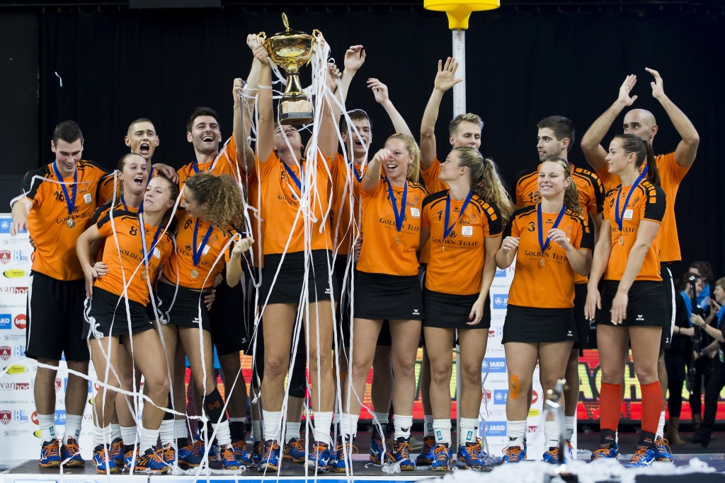 The Netherlands' defeated Belgium in last year's World Championship final