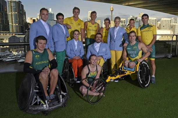 Australian uniforms have been unveiled for the Rio 2016 Paralympics ©APC