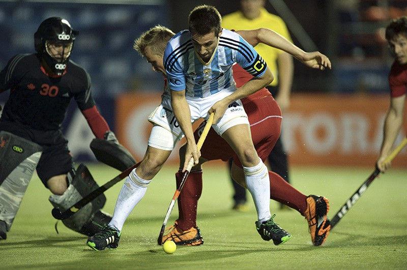 Argentina also sealed their quarter-final spot with a narrow 2-1 win over Canada