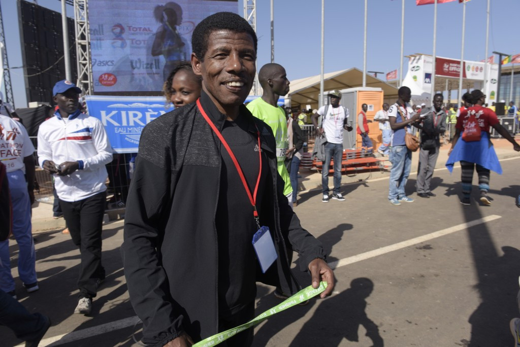 Double Olympic gold medallist Haile Gebrselassie led a protest against the Ethiopia Athletics Federation ©Getty Images