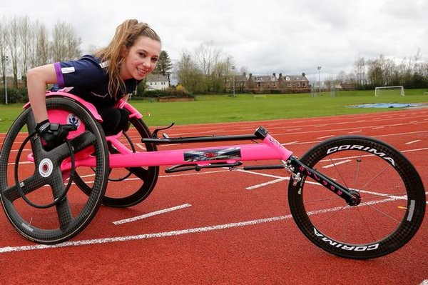 Wheelchair racer Shelby Watson has been named IPC Athlete of the Month ©Twitter
