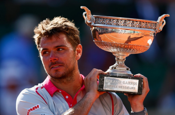 Stanislas Wawrinka claimed the second Grand Slam title of his career with a shock victory over Serbia's Novak Djokovic in the French Open final ©Getty Images