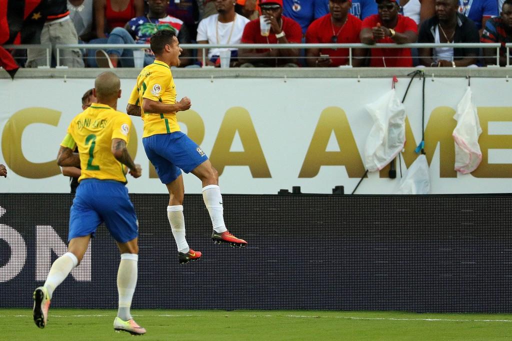 Brazil hammer Haiti as Ecuador fight back to draw with Peru at Copa América Centenario