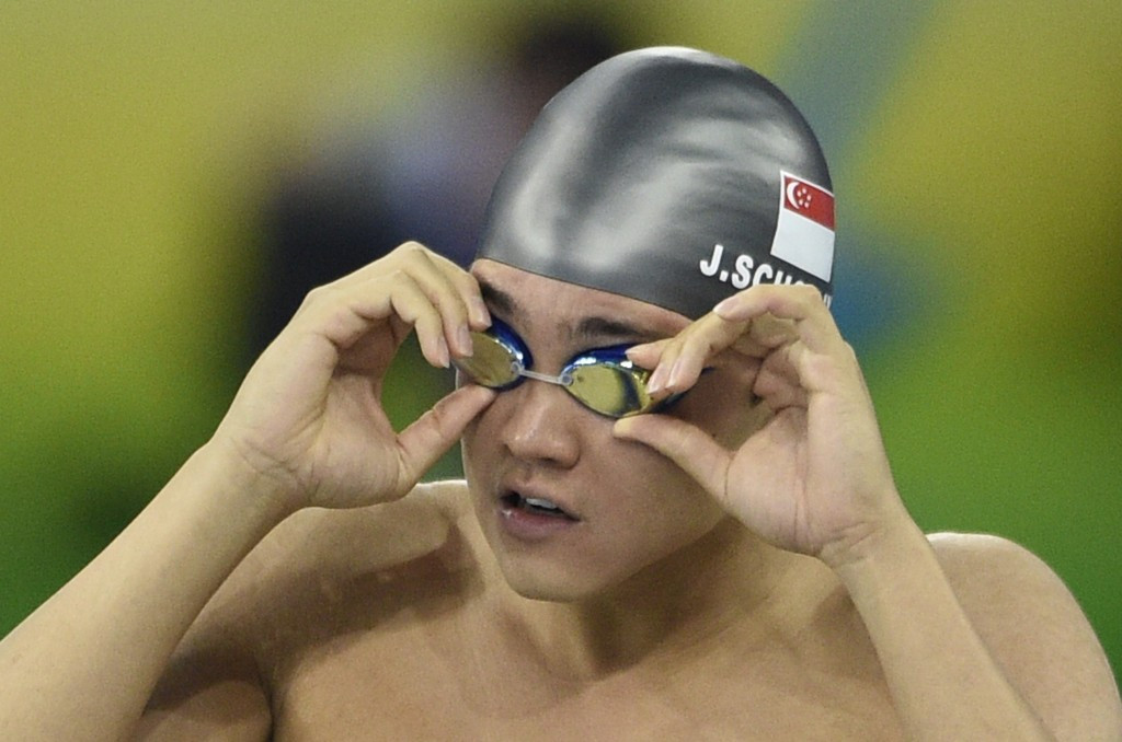 Singapore's Schooling secures double gold on second day of Southeast Asian Games