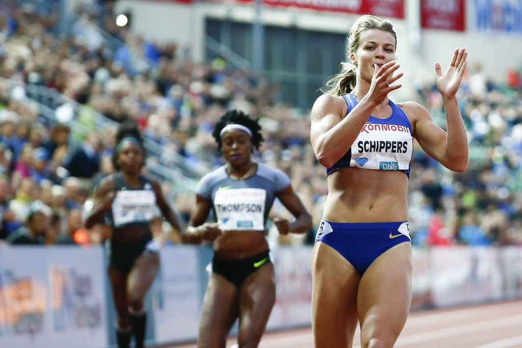 Amsterdam 2016 poster girl Schippers runs Diamond League 200m record in Oslo