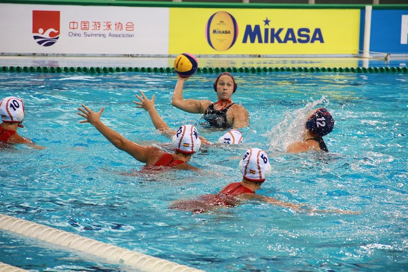 United States and Australia end group stage unbeaten at FINA Women's Water Polo World League Super Final