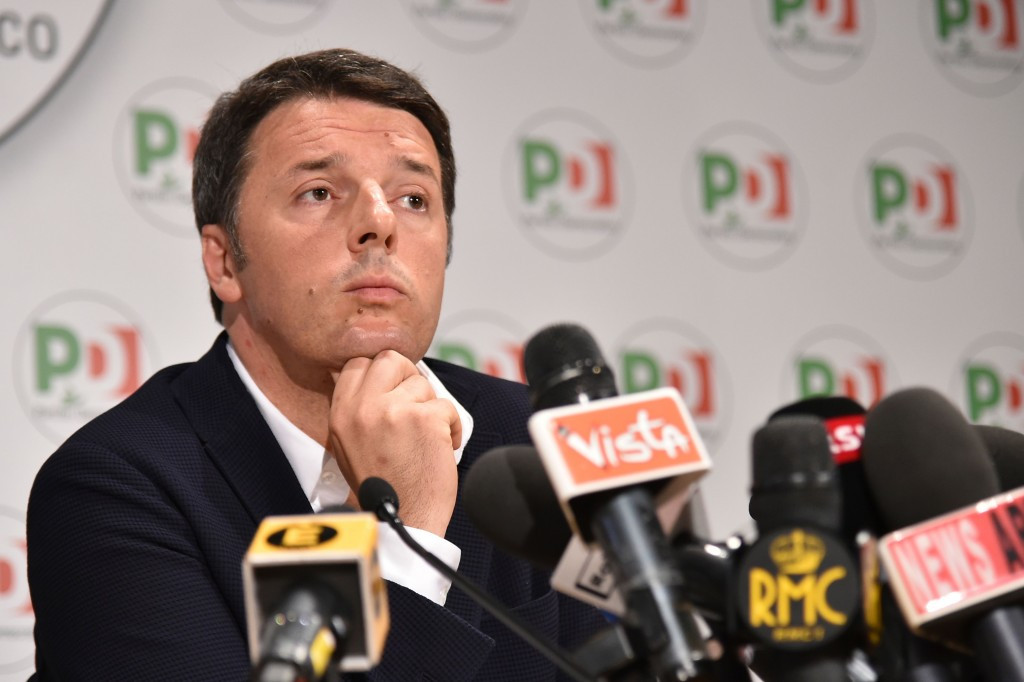 Italian Prime Minister Renzi fears for Rome 2024 if Virginia Raggi is elected Mayor ©Getty Images