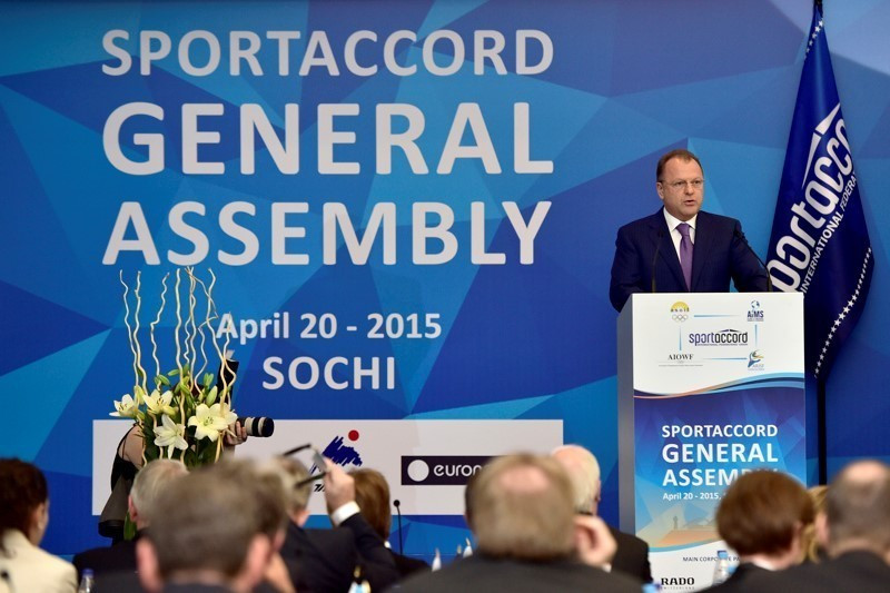 A revamped, downscaled SportAccord is being proposed following the resignation of Marius Vizer in May ©SportAccord