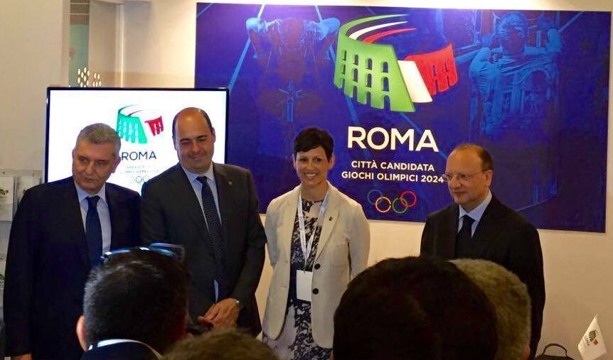 Rome 2024 have been spreading their message at a UNIRETE conference of businesses and entrepreneurs in the Italian capital today