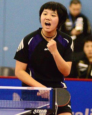 Teenage home favourite registers surprise first-round victory at ITTF Australian Open
