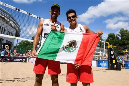 Mexicans make history after securing Rio 2016 berth at FIVB Major Series event in Hamburg