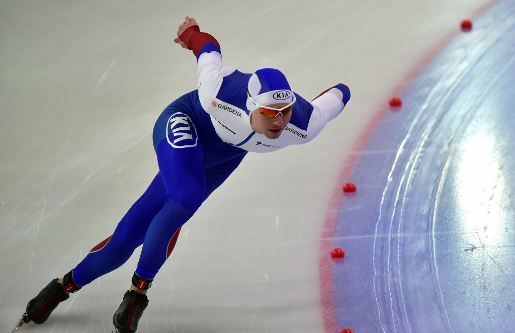 Russia's Pavel Kulizhnikov is one skater to have been implicated in a doping scandal this year after he failed a test for meldonium