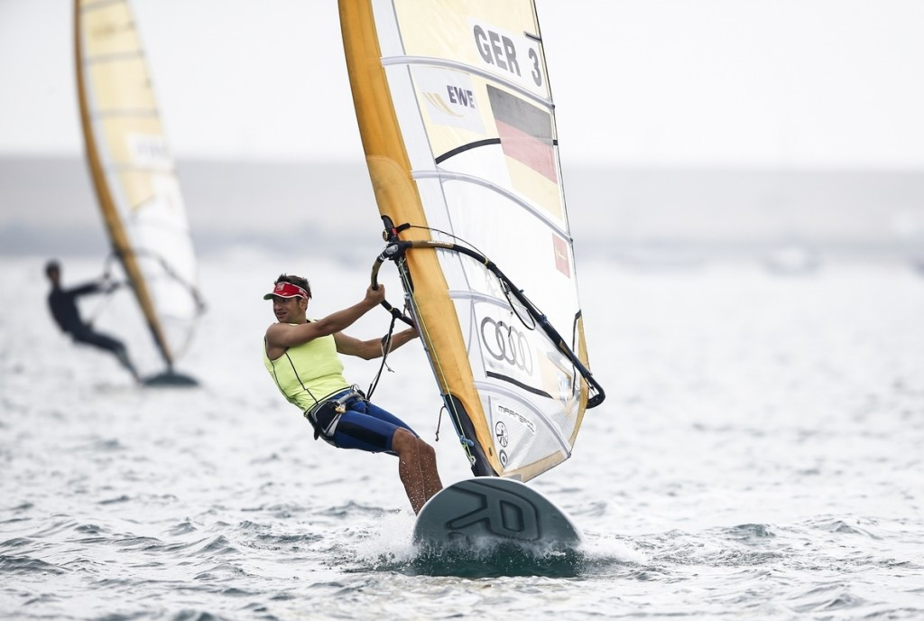 German claims windsurfing double as Britons dominate at home Sailing World Cup