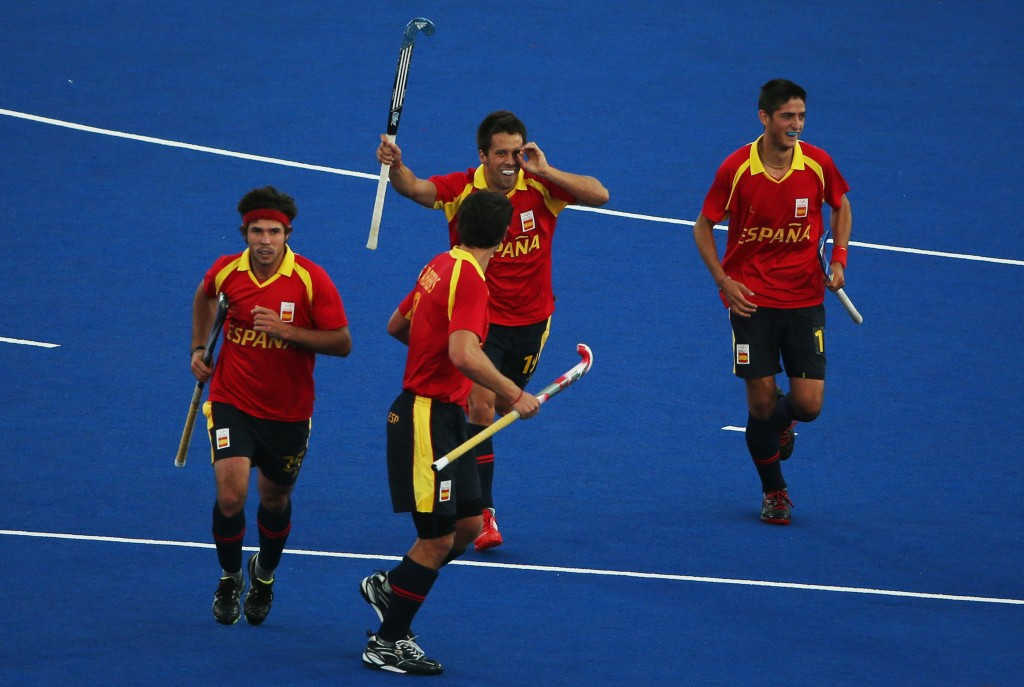 Spain have advanced into the last eight of the Hockey World League semi-final event in Buenos Aires ©Getty Images