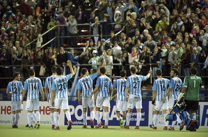 Hosts Argentina remain undefeated in the competition