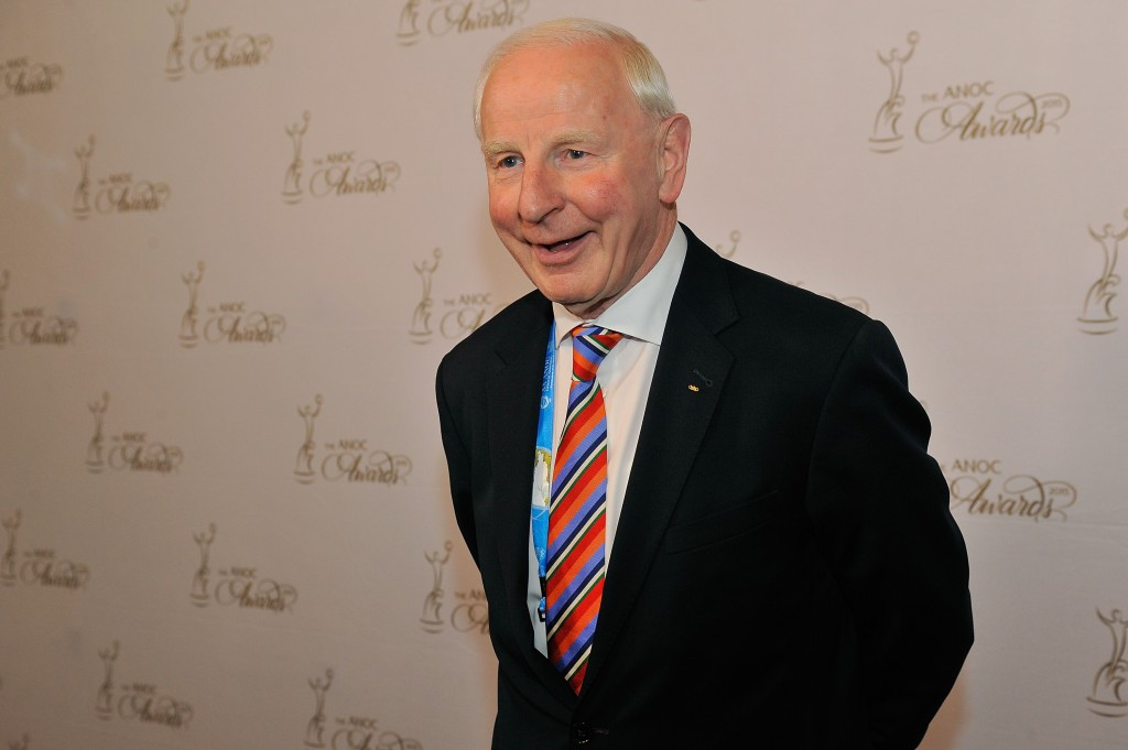 EOC President Patrick Hickey faced criticism for selecting Azerbaijan as hosts of the 2015 European Games