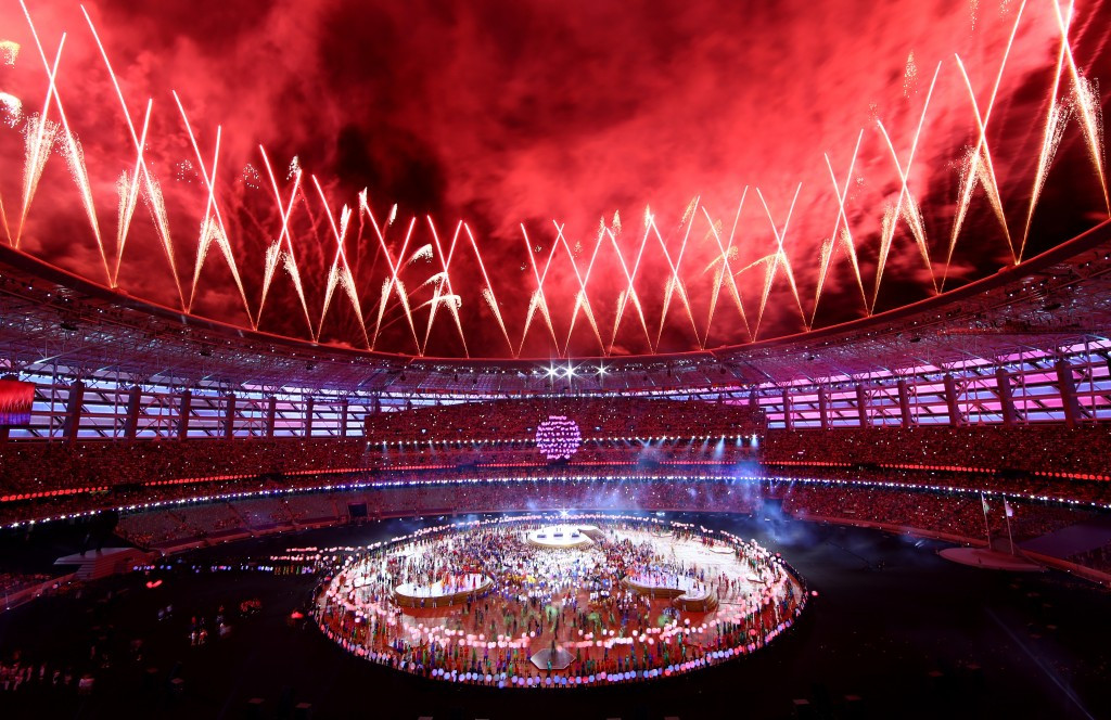 Azerbaijan has been a growing a power on the sporting stage, hosting events including the European Games, but is facing growing opposition ©Getty Images