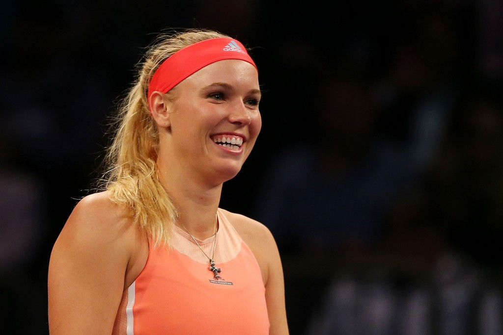 Caroline Wozniacki was selected as Denmark's flagbearer for the Opening Ceremony in February