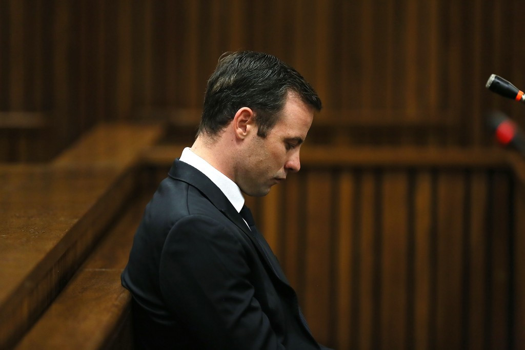 Pistorius records first TV interview ahead of sentencing for murder