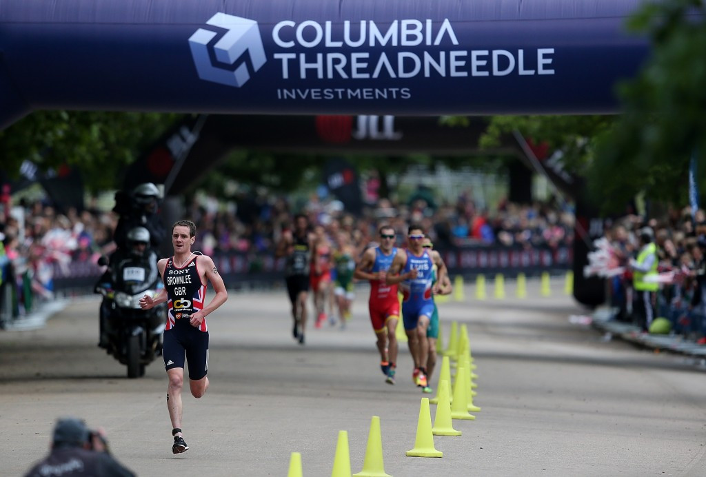 Olympic champion Brownlee looks to step-up Rio 2016 preparations at home World Triathlon Series