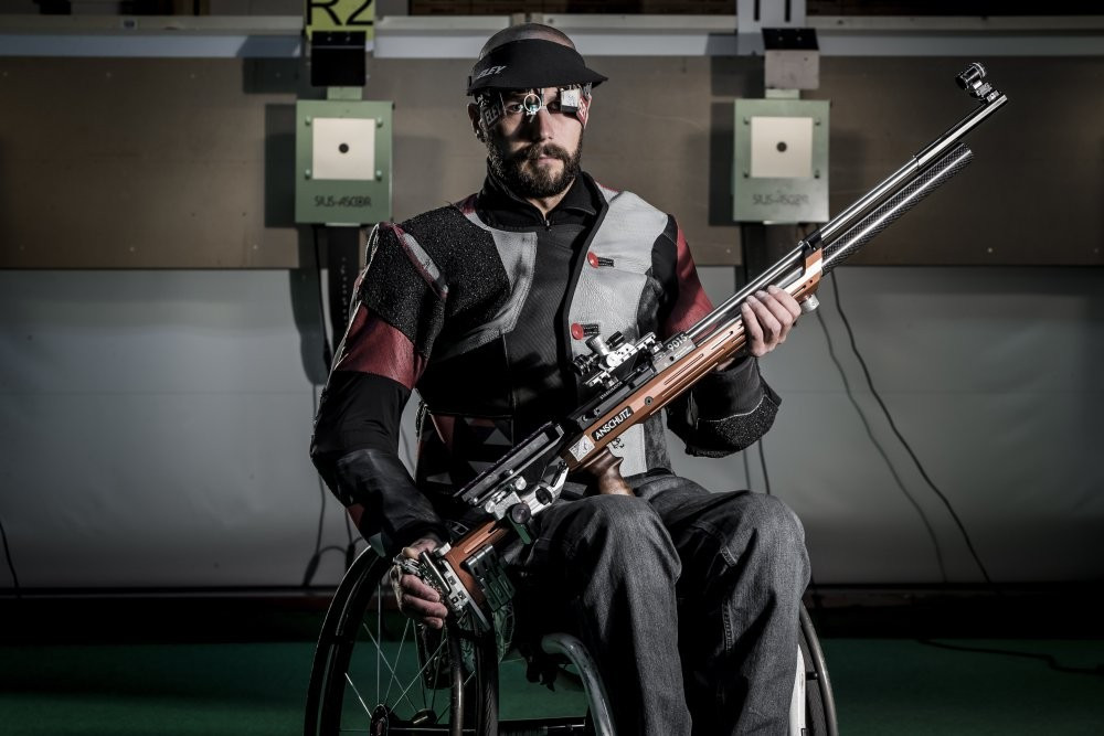 Beijing 2008 gold medallist heads Great Britain's 10-strong shooting team for Rio 2016 Paralympics