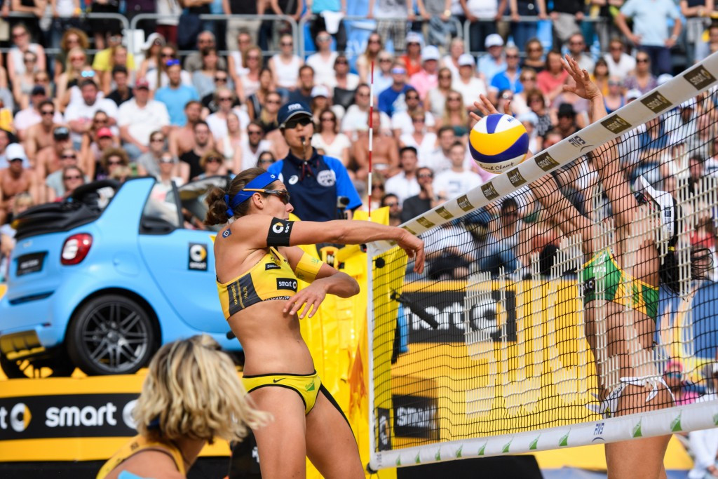 Top seeds Ludwig and Walkenhorst claim gold medal to delight of home crowd at FIVB Major Series event
