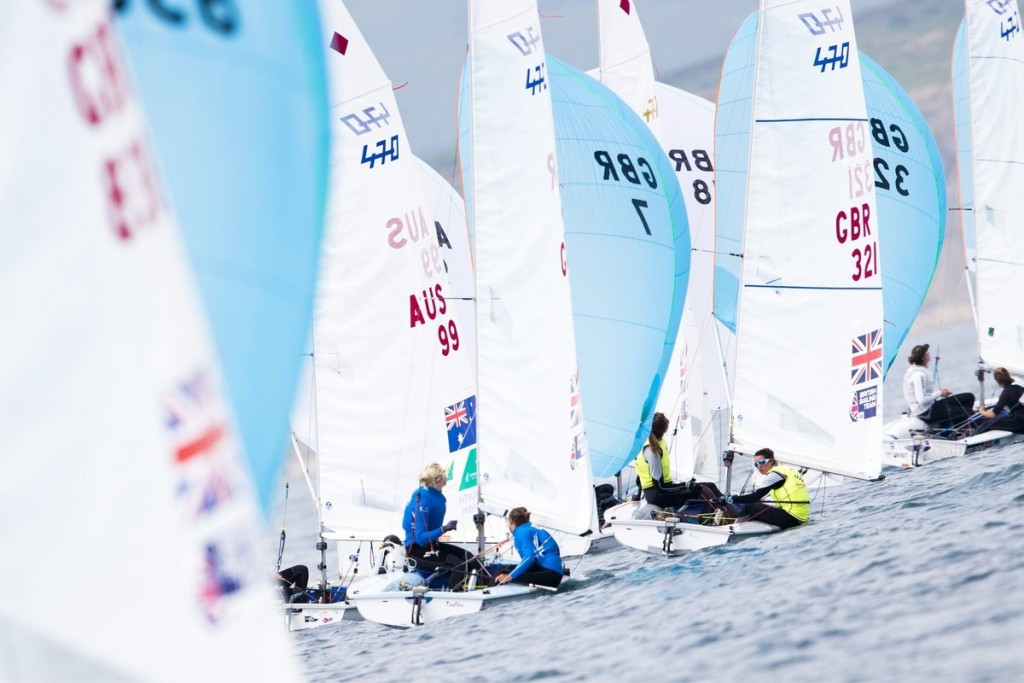 Scott regains finn class lead on penultimate day of Sailing World Cup in Weymouth and Portland
