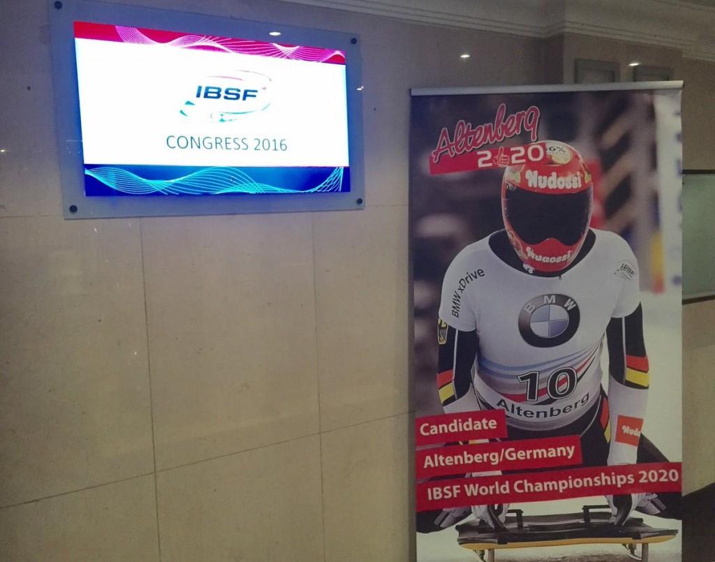Altenberg to host 2020 IBSF World Championships