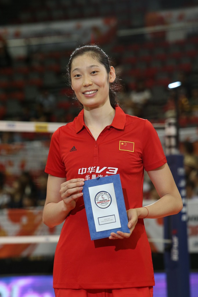 China record second FIVB Grand Prix victory in Ningbo