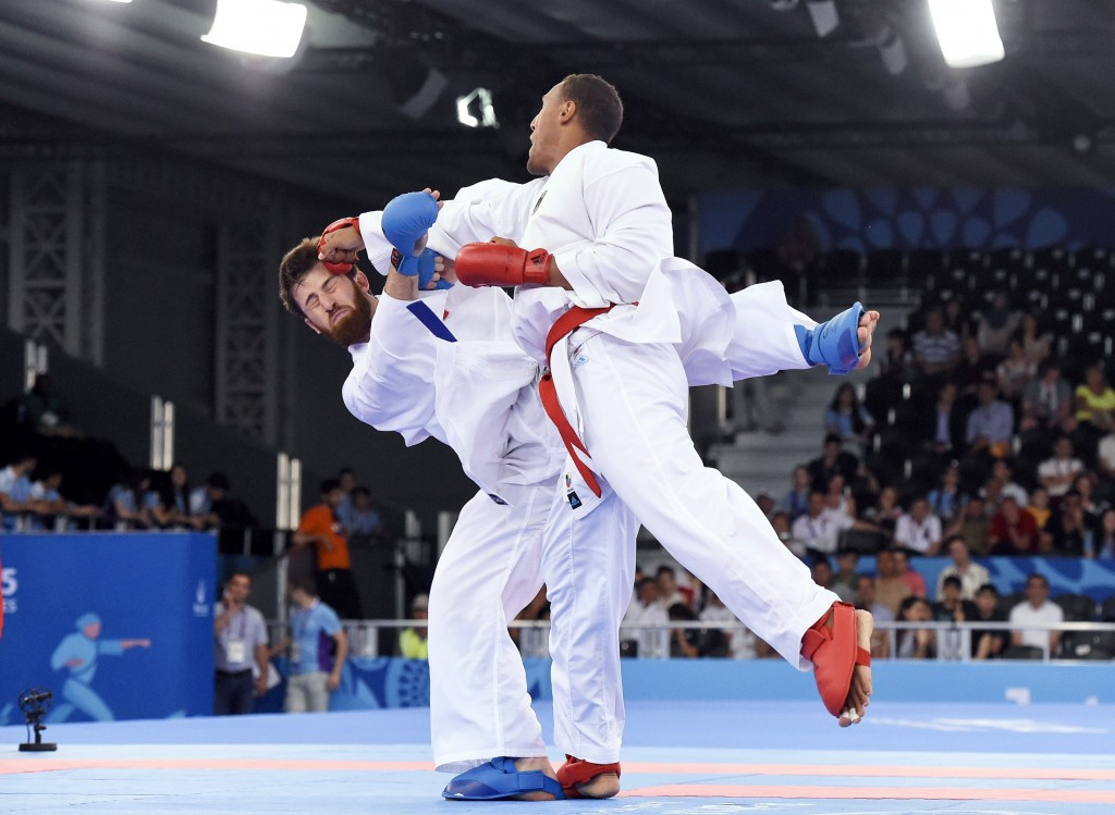Karate is one of five sports which have been recommended for inclusion