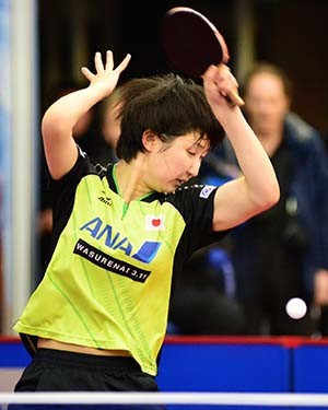 Fifteen-year-old claims women's singles title on golden day for Japan at ITTF Australian Open