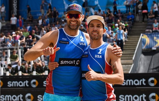 Dalhausser and Lucena triumph at FIVB Major Series event in Hamburg