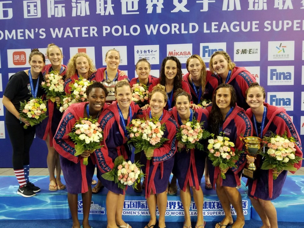 United States secure third straight FINA Women's Water Polo World League crown with win over Spain