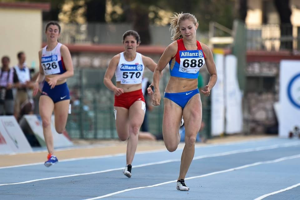 Goncharova powers to gold as another four world records tumble at IPC Athletics European Championships